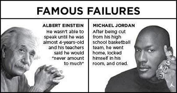 Niemals aufgeben: Berühmte Fehlschläge