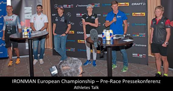 Spannende Highlights & Ansagen der Profis von der IRONMAN European Championship PK