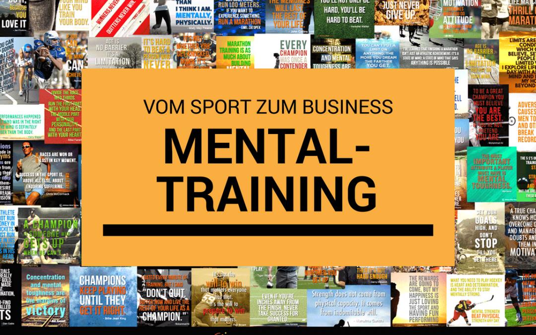 Nutzt (Sport-)Mentaltraining etwas im Business?