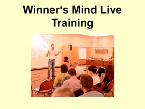 Winner's Mind Live Training