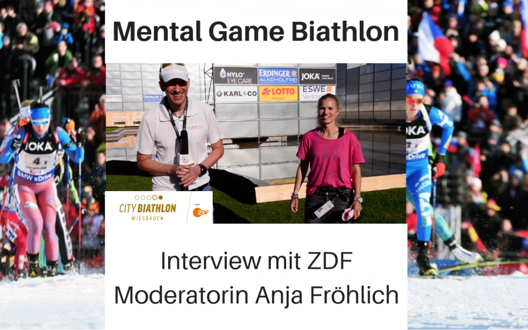 Mental Game Biathlon 2018/19: Interview mit ZDF Moderatorin Anja Fröhlich