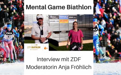 Mental Game Biathlon 2018/19: Interview mit ZDF Moderatorin Anja Fröhlich