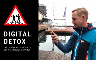 Digital Detox?! = Bessere Konzentration, Regeneration & Gesundheit